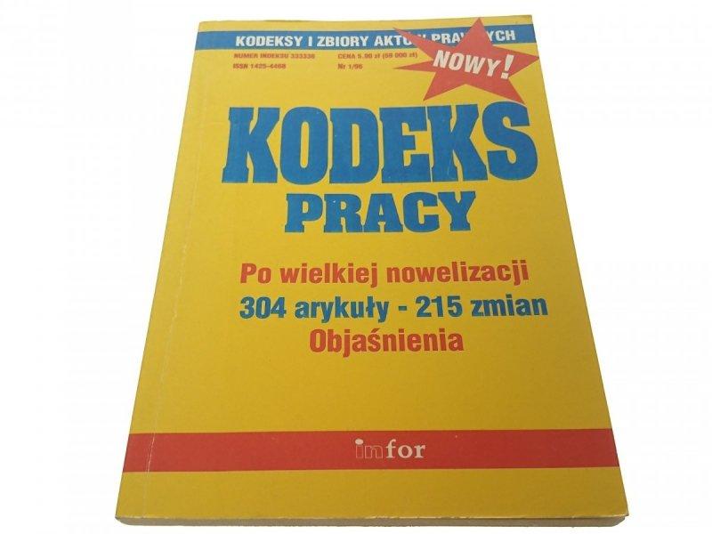 KODEKS PRACY PO WIELKIEJ NOWELIZACJI 1996