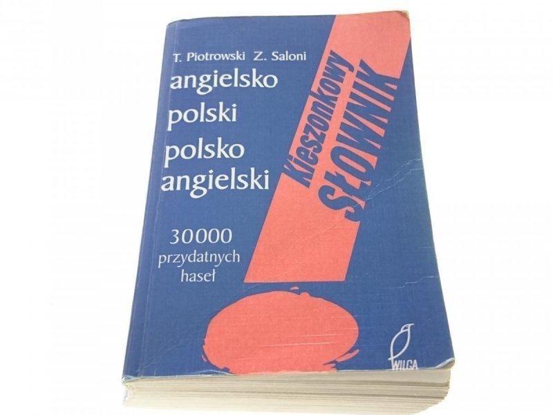 ANGIELSKO-POLSKI, POLSKO ANGIELSKI Piotrowski 2002
