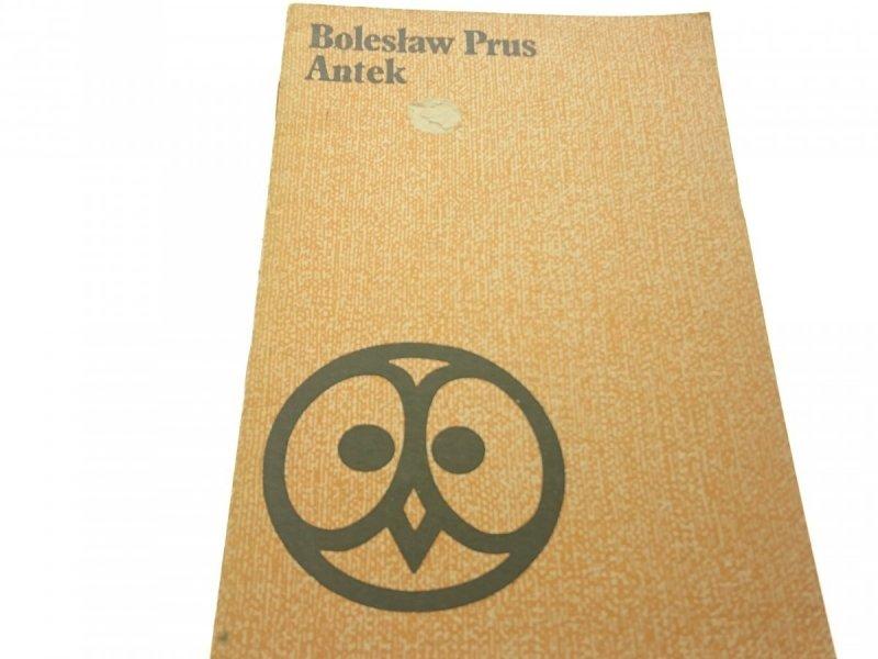 ANTEK - Bolesław Prus (Wyd. XXVI 1978)