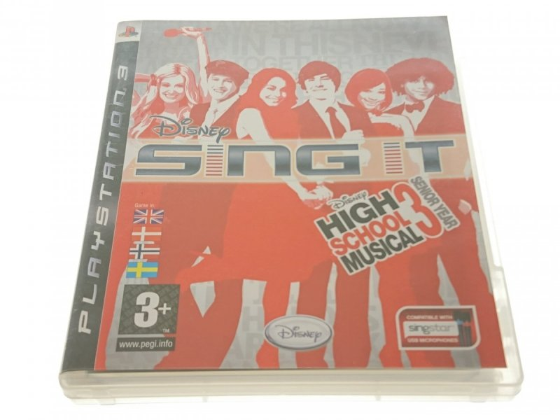 SING IT. HIGH SCHOOL MUSICAL 3...GRA PLAYSTATION 3