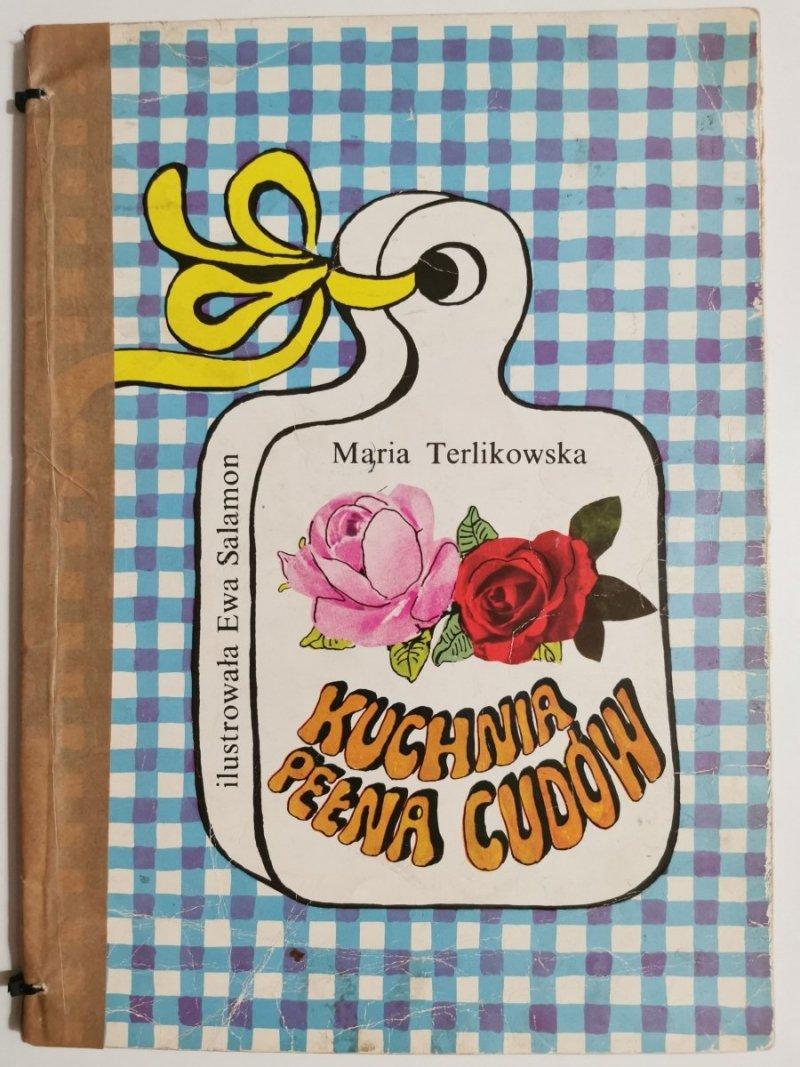 KUCHNIA PEŁNA CUDÓW - Maria Terlikowska 1977