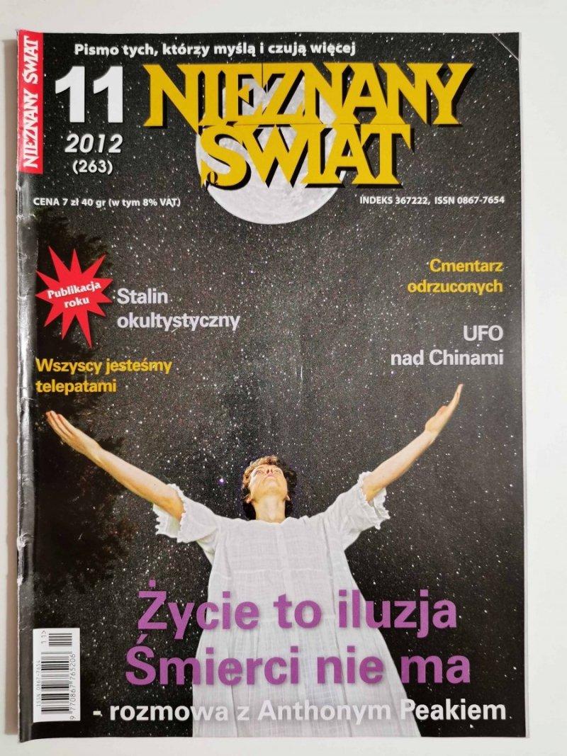 NIEZNANY ŚWIAT NR 11 2012 (263) ŻYCIE TO ILUZJA ŚMIERCI NIE MA