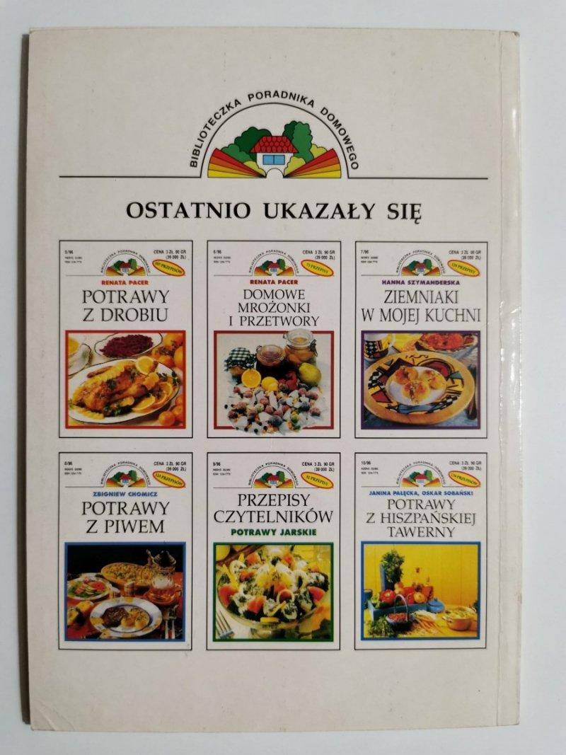 PIZZE, GRZANKI, ZAPIEKANKI - Danuta Kozień 1996
