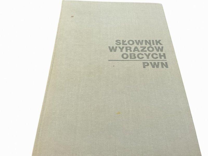 SŁOWNIK WYRAZÓW OBCYCH PWN - Red. Tokarski 1987