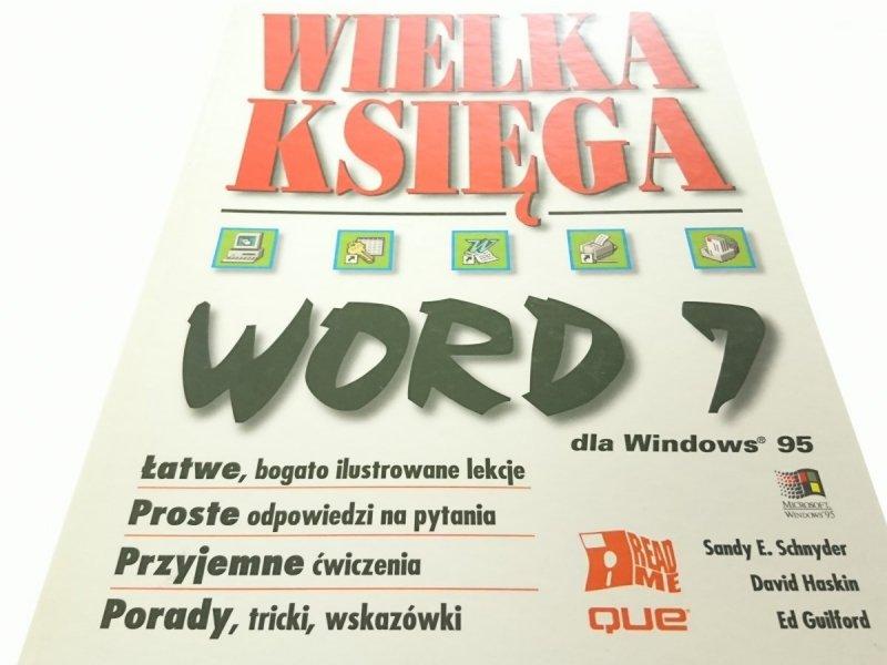 WIELKA KSIĘGA WORD 7_ WIN95