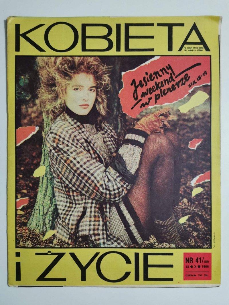 KOBIETA I ŻYCIE NR 41/1950 12 X 1988