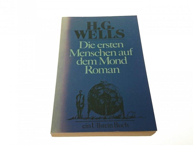 DIE ERSTEN MENSCHEN AUF DEM MOND ROMAN Wells 1982