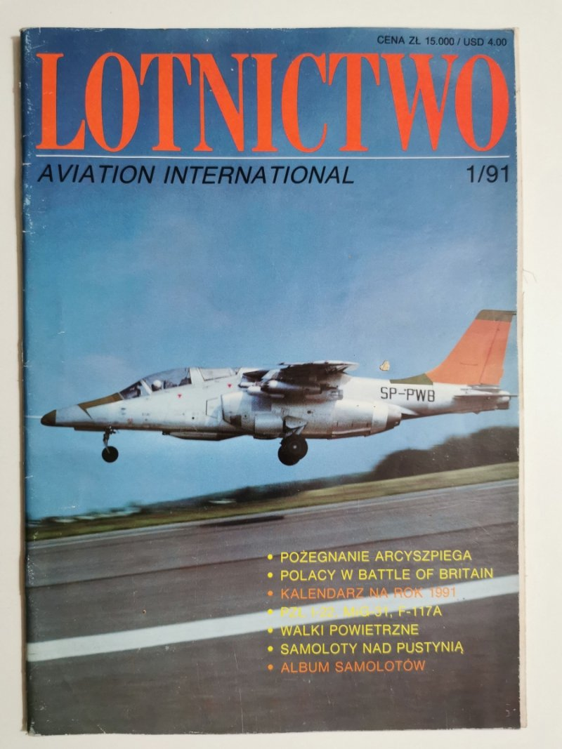 LOTNICTWO NR 1/91