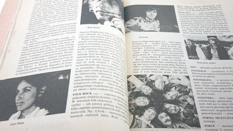 MAŁY SŁOWNIK MUZYKI ROZRYWKOWEJ Wacław Panek 1986