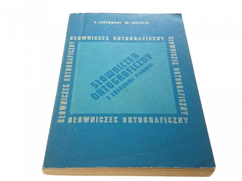 SŁOWNICZEK ORTOGRAFICZNY Z ZASADAMI PISOWNI 1984