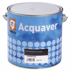 ACQUAVER FERROMICACE - 0,75L (emalia akrylowa do metalu, na bazie wody, pozwalająca uzyskać matowy efekt kutego żelaza)