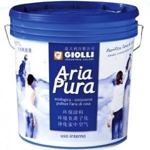 ARIA PURA ® - 5L  (biała, farba zmywalna z efektem jonizacji powietrza - wewnętrzna z możliwością barwienia)