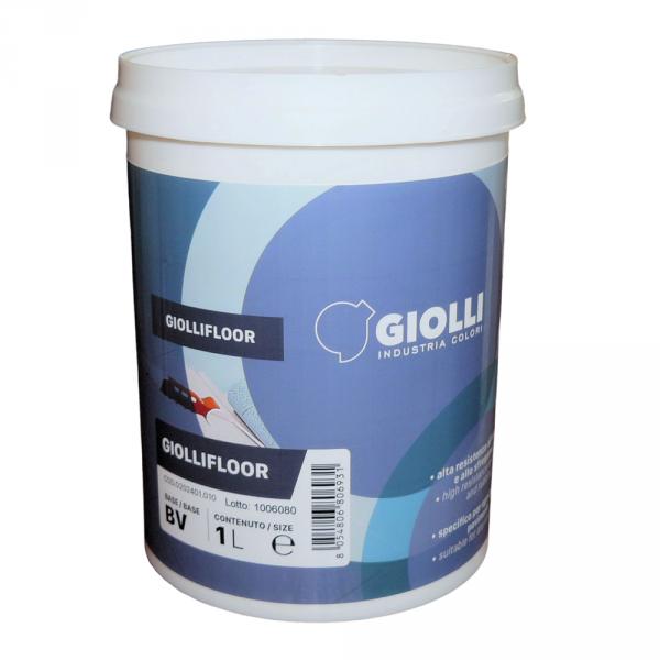 GIOLLIFLOOR- 1L (biała farba akrylowa do malowania płytek ściennych i podłogowych z możliwością barwienia)