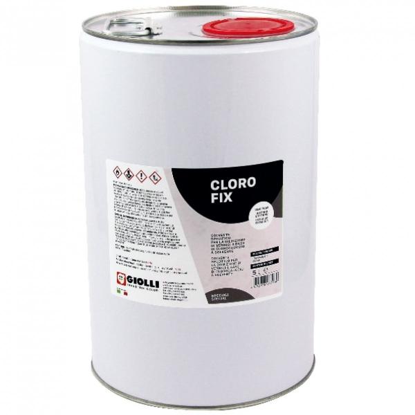 CLORO FIX - 5L ( grunt pod farby chlorokauczukowe do wnętrz i na zewnątrz - koncentrat)