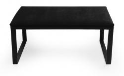 Ławka tapicerowana metalowa 3