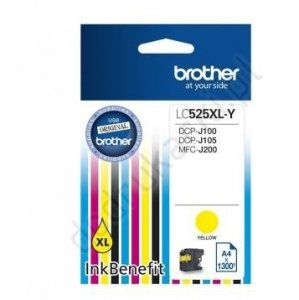 TUSZ BROTHER LC-525XL YELLOW