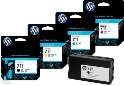 TUSZ ZAMIENNIK HP 711 DESIGNJET T120 YELLOW [30ml] [XL]