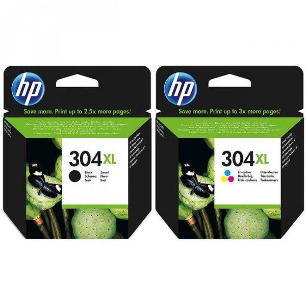 N9K06AE HP304 oryginalny tusz czarny standardowej wydajności do HP Desk jet 2620 2630 3720 3721 3722 3730 3732 3733 3735 3752 3755 3758. Pojemność 2 ml. Wydajność 120 stron.