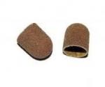 Kapturki ścierne do pedicure 13mm - 150 średnioziarniste - 10 szt.