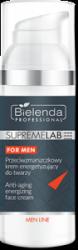 Bielenda  SUPREMELAB MEN Przeciwzmarszczkowy krem energetyzujący do twarzy dla mężczyzn , 50 ml