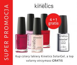 Kinetics PROMOCJA  - 4 Lakiery solarne + Top solarny GRATIS !