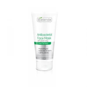 Bielenda Antybakteryjna maseczka do twarzy z glinką zieloną - 175 ml