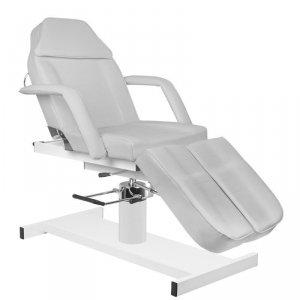 Fotel kosmetyczny hydrauliczny A-210C PEDI - szary
