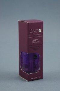 CND Super Shiney - Lakier nawierzchniowy - nabłyszczający - 9.8 ml