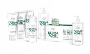 Farmona Dermaacne - Pakiet Sebo-regulujący zabieg dla skór mieszanych, tłustych, trądzikowych z kwasami AHA i ekstraktem z gruszki