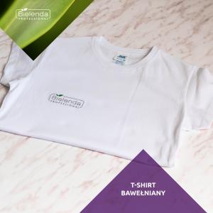 Bielenda T-shirt bawełniany - biały w rozm. S-XL