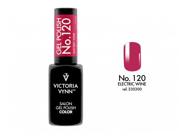 Victoria Vynn Gel Polish - Electric Wine No.120 8 ml