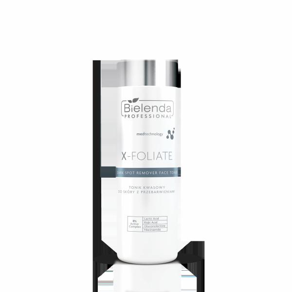 Bielenda X-Foliate C Dark Spot Tonik kwasowy do skóry z przebarwieniami  200ml