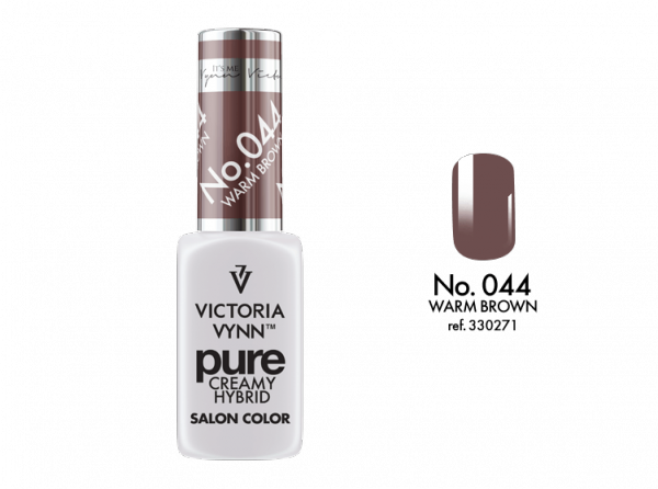 Victoria Vynn Pure Color - No.044 Warm Brown 8 ml