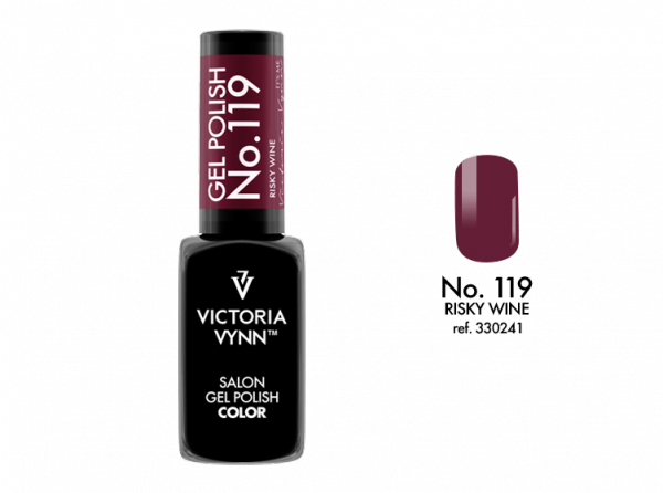 Victoria Vynn Gel Polish Color - Risky Wine No.119 8 ml