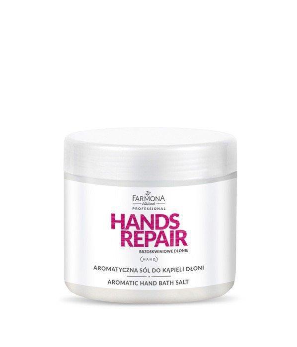 Farmona Hands Repair - Aromatyczna sól do kapieli dłoni - 600g