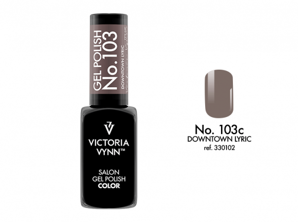 Victoria Vynn Gel Polish Color - Downtown Lyric No.103 8 ml