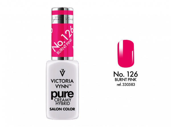 Victoria Vynn Pure Color - No.126 Burnt Pink 8 ml