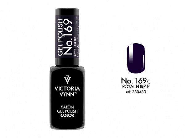 Victoria Vynn Gel Polish Color - Royal Purple No.169 8 ml