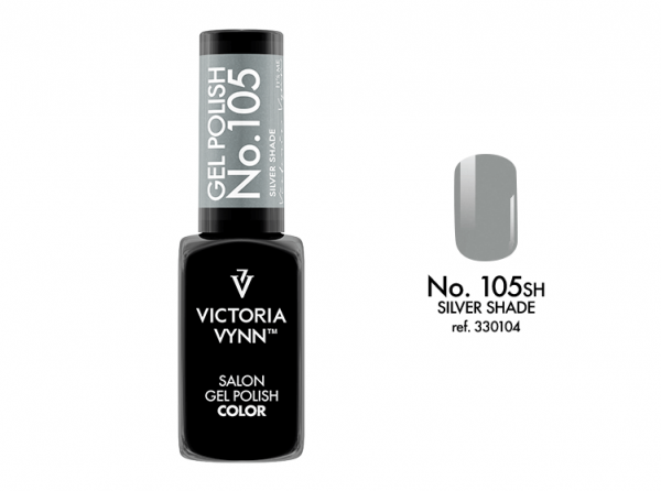 Victoria Vynn Gel Polish Color - Silver Shade No.105 8 ml