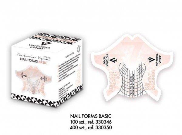 Victoria Vynn - NAIL FORMS BASIC 400szt