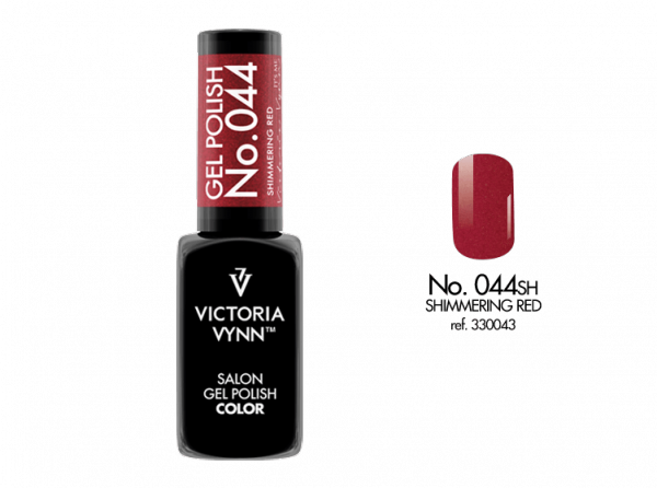 Victoria Vynn Gel Polish Color - Shimmering Red No.044 8 ml