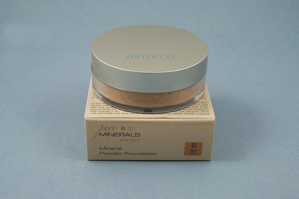Artdeco- Podkład mineralny - Mineral losose powder nr: 8