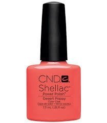 CND Shellac Desert Poppy - 7,3 ml