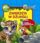 Animal Club Układanka Kolorowanka Zwierzęta w dżungli