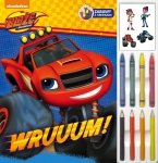 Blaze i Megamaszyny Zabawy z kredkami Wruuum!