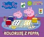 Świnka Peppa Zabawa w kolory Koloruję z Peppą