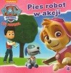 Psi patrol 4 Pies robot w akcji