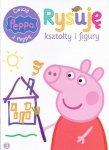 Świnka Peppa Ćwiczę z Peppą 3 Rysuję kształty i figury