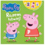 Świnka Peppa Opowiadania z naklejkami 3 Razem łatwiej!