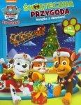 Psi Patrol Świąteczna przygoda - książka z okienkami